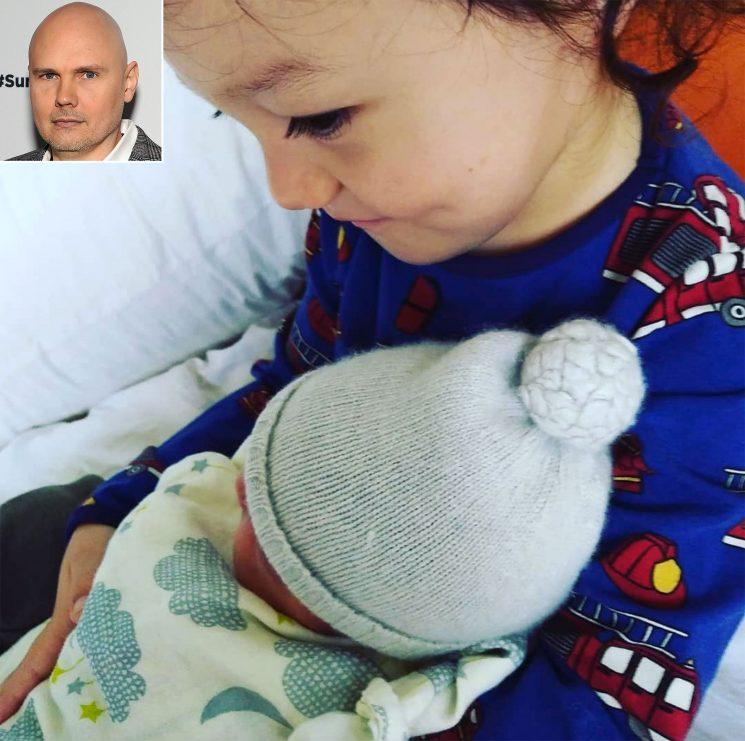 Surprise! Smashing Pumpkins Frontman Billy Corgan Welcomes Daughter Philomena Clementine