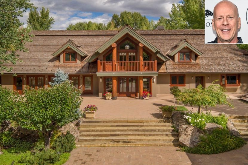 Bruce Willis Sells Idaho Estate Originally Listed at $15 Million for One Third the Asking Price