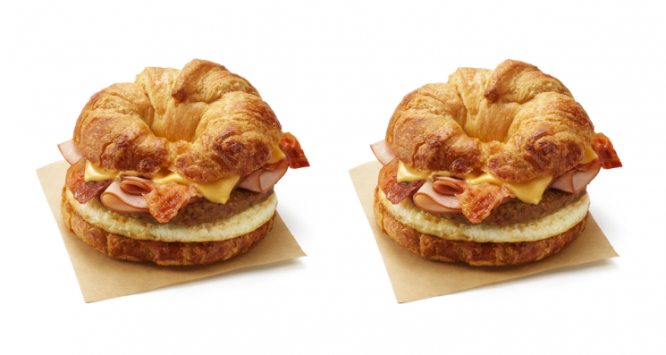Dunkin' Donuts' New All You Can Meat Breakfast Sandwich Has Everything You Want