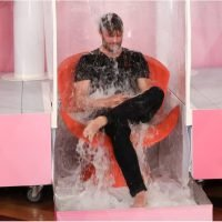 Jamie Dornan Getting Soaked With Water Balloons Might Be the Highlight of Your Day