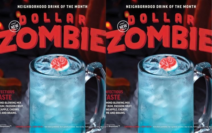Applebee's Is Selling A Zombie Drink For $1 — Here's What It Tastes Like