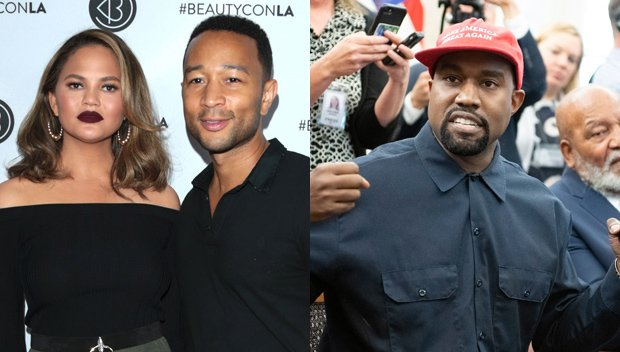 Chrissy Teigen & John Legend Extremely Upset With Kanye West Over White House Rant: He's 'Off The Walls'