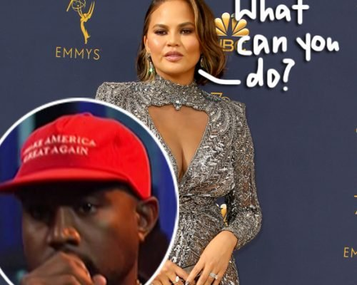 Chrissy Teigen Says Pro-Trump Supporters Like Kanye West Are 'Entitled To Their Opinion'