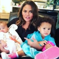 Chrissy Teigen Jokes About Starting YouTube Series with Mom and Kids – and Luna Isn't Having It
