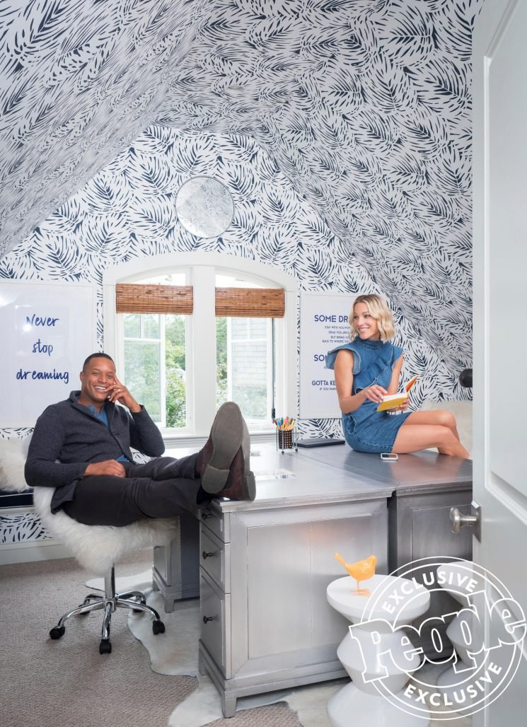 Today Show Anchor Craig Melvin's Opens His Family's Connecticut Home to PEOPLE — See Inside