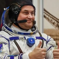 Cosmonaut shrugs off emergency landing after failed launch attempt