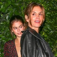 Kaia Gerber Steps Out in Style for Dinner With Her Parents