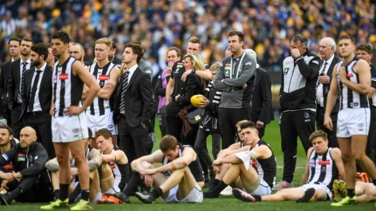 Collingwood's grand final death by a thousand cuts