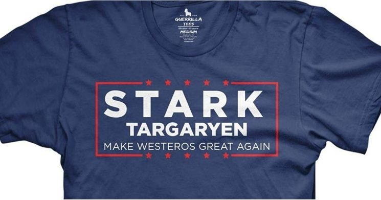These 26 Epic Game of Thrones T-Shirts Rule More Than the 7 Kingdoms
