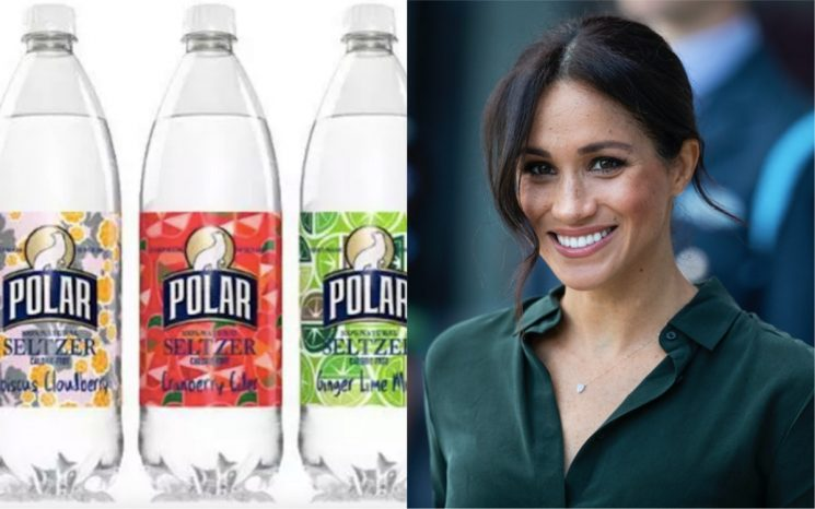 Polar Just Launched A New Seltzer Flavor Inspired By Meghan Markle