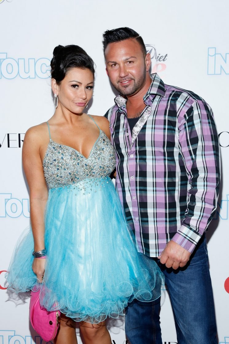 The Photos Of JWoww & Roger Mathews At A Disney Event Show They're Co-Parenting Already
