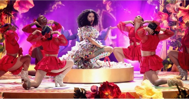 """We All Wanna Party With Cardi After Her Insanely Fun """"I Like It"""" Performance at the AMAs"""