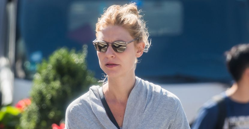 Claire Danes Kicks Off Her Morning with a Workout!