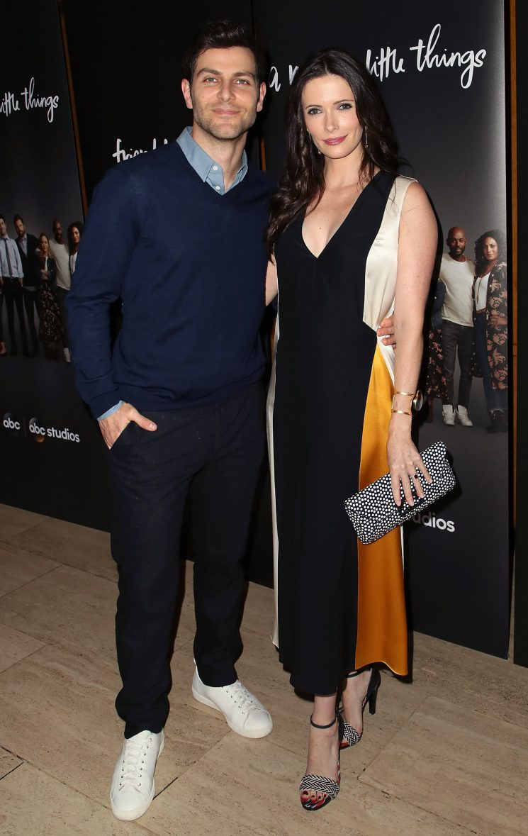 Grimm Alums David Giuntoli and Elizabeth Tulloch 'Over the Moon' to Be Expecting First Child