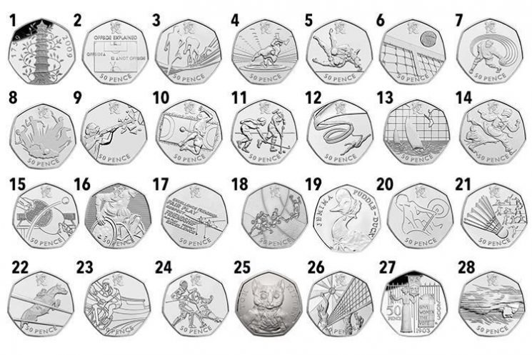 The most valuable and rarest 50p coins – and you could have one worth £840 in your spare change