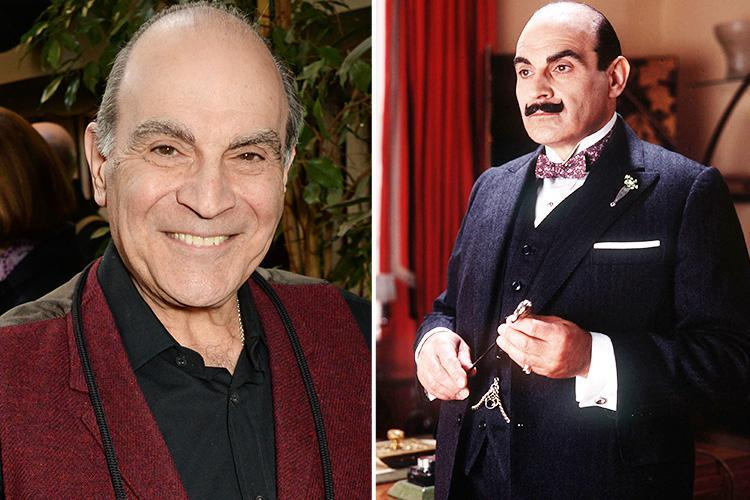 How old is David Suchet, who are the Hercule Poirot star's brothers and who's his wife Sheila Ferris?