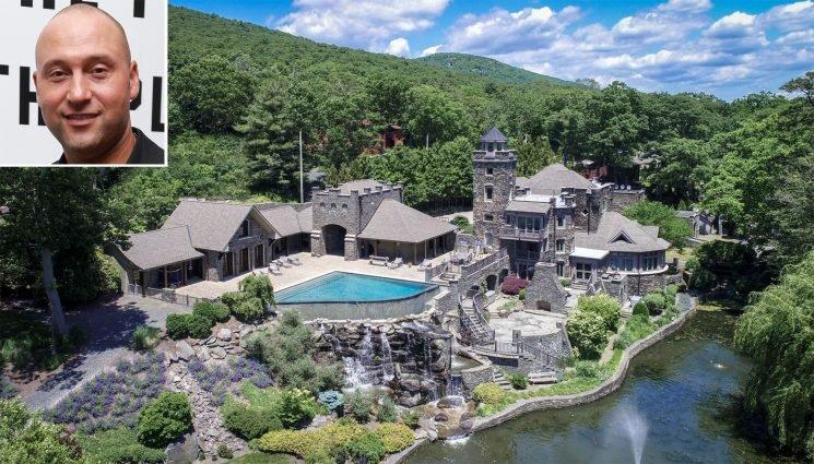 See Inside Derek Jeter's Jaw-Dropping Lakefront Castle: Now Listed for $15 Million