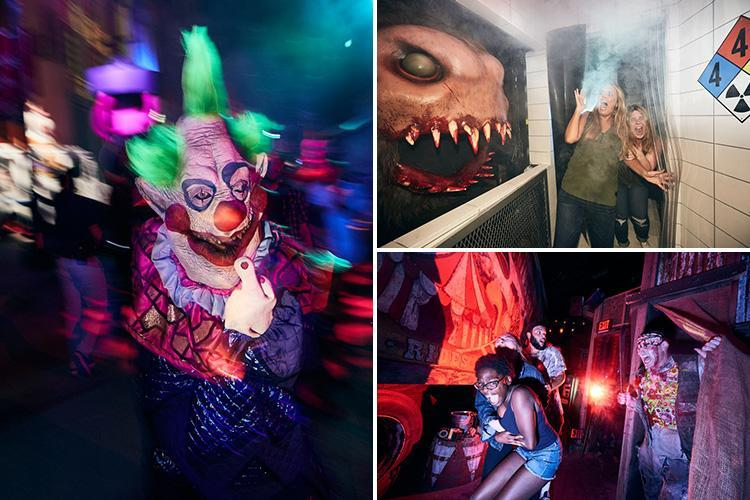 From Spain to Orlando, we rate the creepiest fright-fests Halloween abroad and in the UK