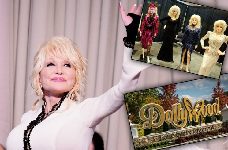 Dolly Parton Forces Fans To Trek To Dollywood For Souvenirs