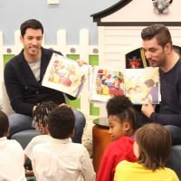 Drew and Jonathan Scott Launch Library Makeover Contest to Celebrate their First Kids' Book