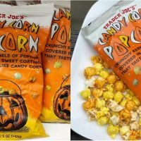 It's Kind of Scary How Excited We Are About Trader Joe's Candy Corn Popcorn