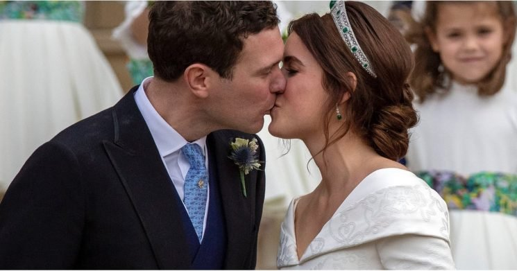 There's a Very Special Hidden Detail in Princess Eugenie's Wedding Dress