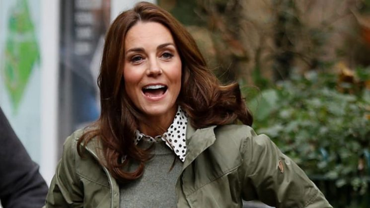 Kate Middleton nails 'school pick-up chic' on first day back at work