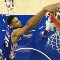 Ben Simmons leads 76ers to NBA victory over the Bulls
