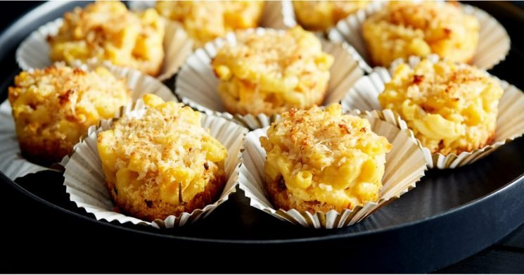 """These Pumpkin Macaroni and Cheese """"Muffins"""" Are the Perfect Fall Finger Food"""