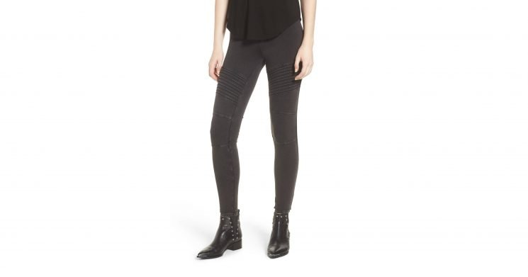 Give Your Leggings Collection an Edgy Update With This Biker-Inspired Design