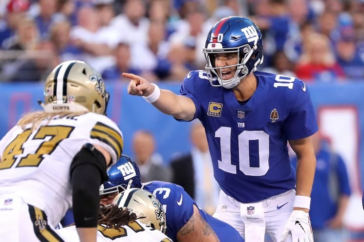 Time for Eli Manning to shock sputtering Giants offense to life