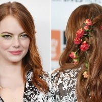 Emma Stone Wore a Dozen Roses in Her Hair on the Red Carpet: All the Details from Her Stylist