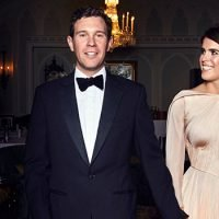 Princess Eugenie's Reception Dress With Tight Bustier Top — Shows Off Tiny Waist