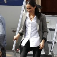 Meghan backs up $8000 of clothes with $200 jeans by Aussie brand