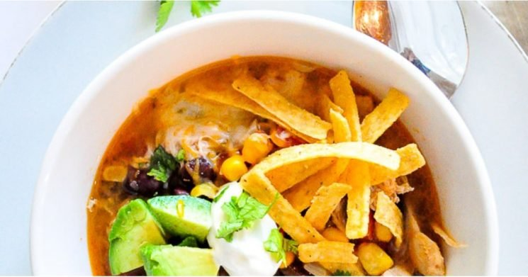 Please the Entire Family With This Instant Pot Recipe For Tortilla Soup