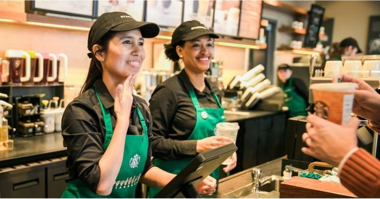 """Starbucks Just Opened Its First """"Signing Store"""" in the US — See All the Accessible Features"""