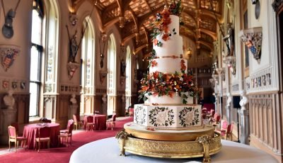 The Most Glamorous Royal Wedding Cakes Through History