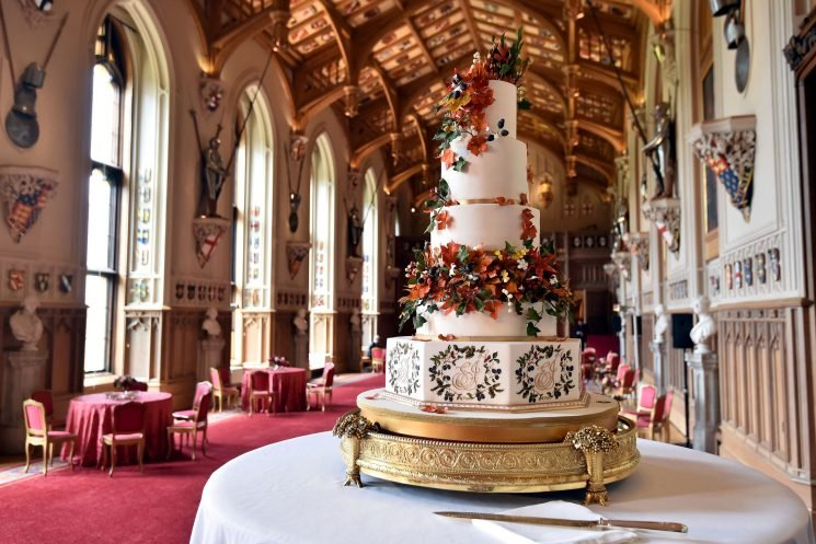 The Most Glamorous Royal Wedding Cakes Through History