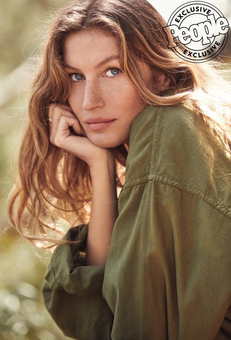 Gisele Bündchen Says She Used Her Breast Milk As a Cure-All When Her Kids Were Little