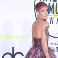 Halsey Looks Like A Princess In Gorgeous Floral Gown At AMAs