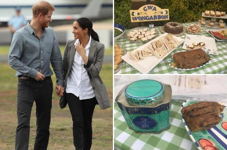 Meghan Markle made THIS homemade treat for Aussie family – and gave them posh tea
