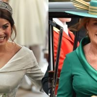 Princess Eugenie's Smile Is Just Like Her Mom's at the Royal Wedding