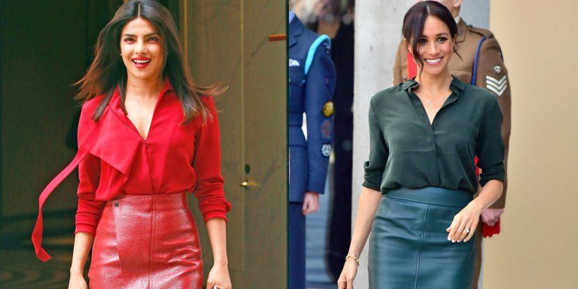 Priyanka Chopra Just Channeled Meghan Markle's Monochrome Style
