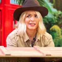 Holly Willoughby looks anxious ahead of I'm A Celebrity debut