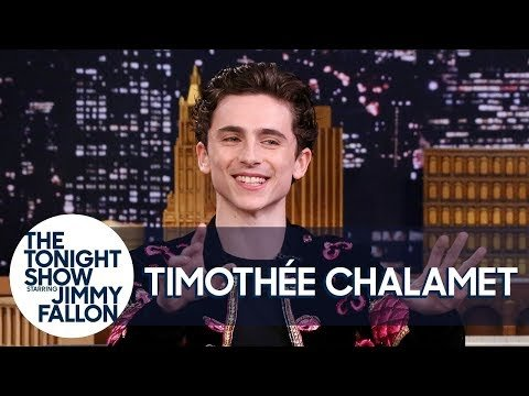Timothee Chalamet Sees Your Memes — And Reacts To Them HERE!