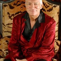 Playboy Founder Hugh Hefner's Smoking Jacket and Iconic Black Silk Pajamas to be Auctioned Off
