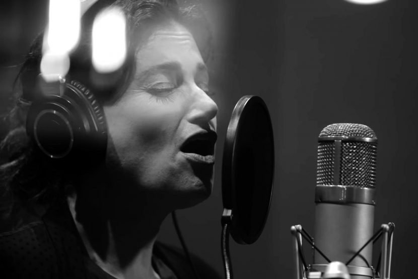 Watch Idina Menzel Belt Chilling 'Bridge Over Troubled Water' Cover