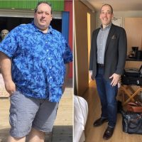 Canadian Man Reveals How He Overcame Emotional Eating and Lost 195 Lbs.