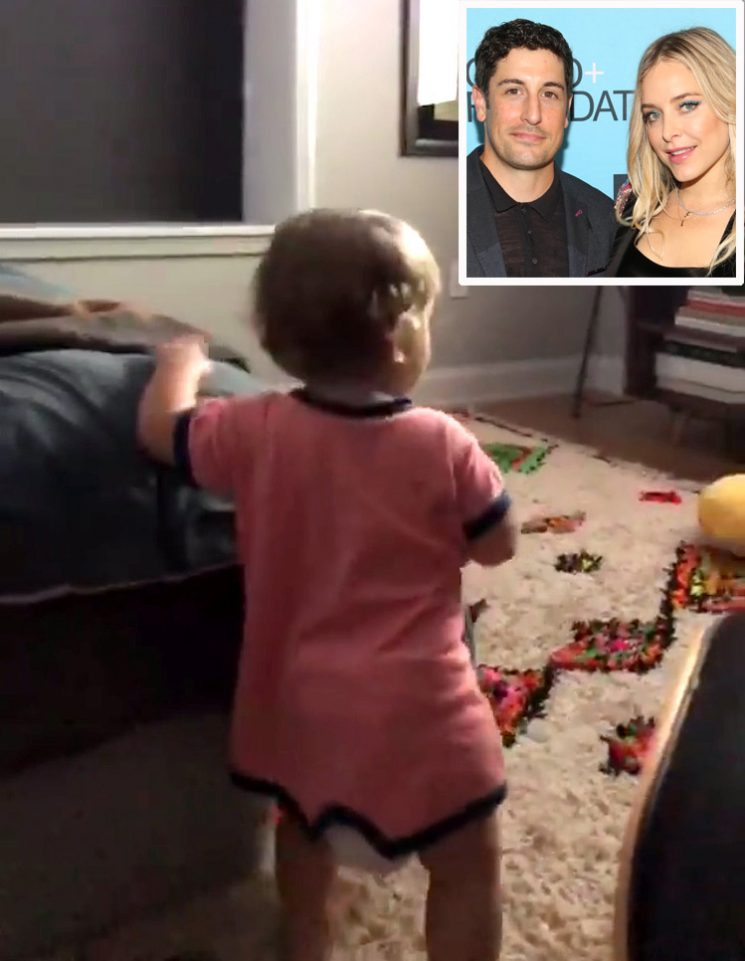 Jason Biggs Hits Back at Comments About His Son's Diaper: 'It Ain't Full Anymore – Lay Off Me'