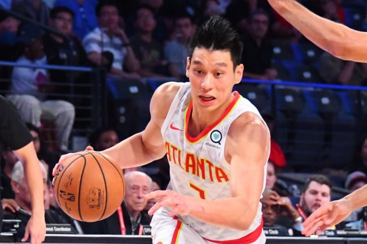 Jeremy Lin sounds so happy, though maybe not with the Nets